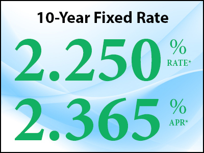 10 Year Fixed Rate Mortgage Special