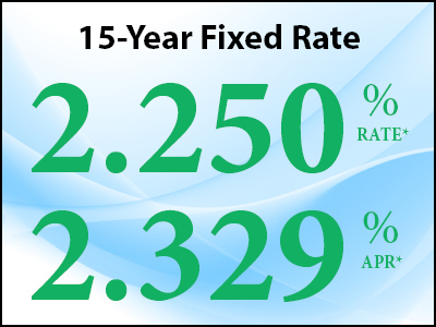 15 Year Fixed Rate Mortgage Special